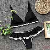 Купальник раздельный черный, фото 4