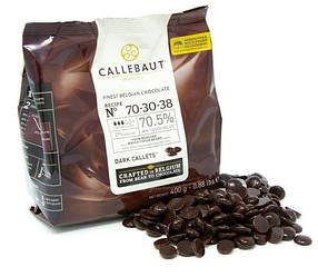 Чорний шоколад 70 % CALLEBAUT 70-30-38-E0-D94, 0,4 кг