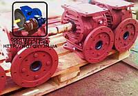Мотор-редукторы червячные МЧ-100-45 с электродвигателем 3 кВт