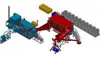 Комплекс для термокаталитического обезвреживания отходов 500 кг/час