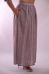Костюм женский  прошва кос 002-3, юбка в пол и жакет лен ., фото 6