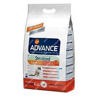 Advance Sterilized Salmon Sensitive Сухой корм кастрированных/стерилизованных с лососем и ячменем, 10 кг