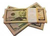 Сувенирные деньги, доллары номиналом 50$ и 100$