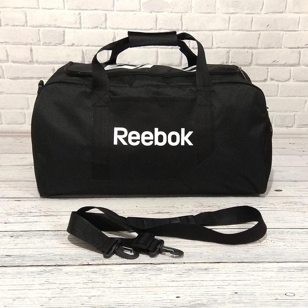 Спортивная сумка в стиле Reebok UFC, рибок для тренировок, дорожная. Черная