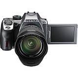 Фотоапарат PENTAX K-70 kit DA 18-135 WR Black Silky Silver /під замовлення, фото 2