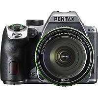 Фотоаппарат PENTAX K-70 kit DA 18-135 WR Black Silky Silver ( на складе )