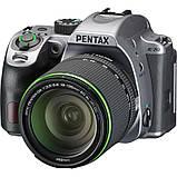 Фотоапарат PENTAX K-70 kit DA 18-135 WR Black Silky Silver /під замовлення, фото 3