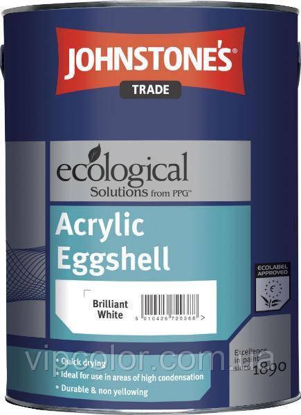 Johnstones Acrylic Eggshell 5 л матовая краска для внутренних работ
