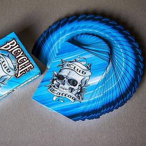 Карты игральные   Bicycle Club Tattoo Blue, фото 2
