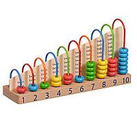 Арифметический счет Игрушки из дерева (Д013)