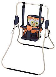 Качель Babyroom Сова  графит-оранжевый