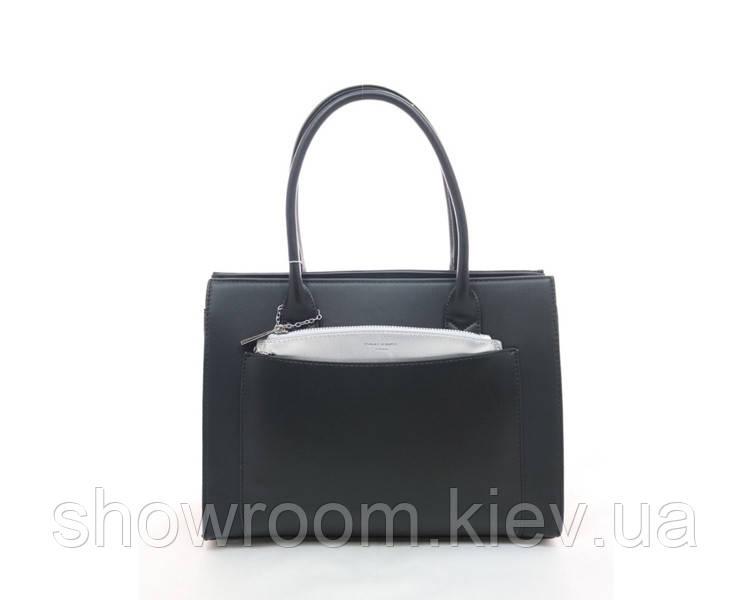 Женская деловая сумка David Jones (900) black