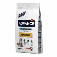 Advance Cat Adult Sensitive Salmon & Rice,Сухой корм кастрированных/стерилизованных с лососем и рисом, 10 кг