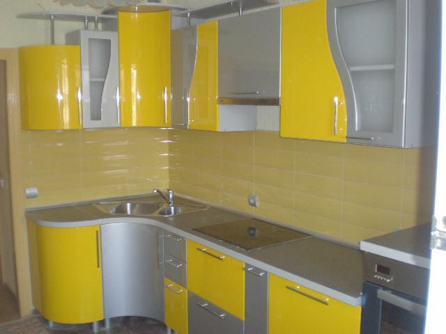 Кухня МДФ крашенный 126