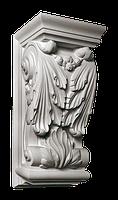 Кронштейн из гипса кн-83 300х145х145