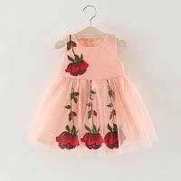 Платье для девочки Роза, фото 1