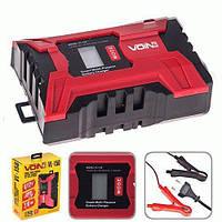 Зарядний пристрій VOIN VL-156 6-12V/2.0-6.0 A/3-150AHR/LCD/Імпульсне (VL-156)