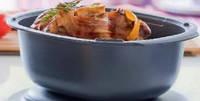 Кастрюля  УльтраПро Tupperware  3,5 л для приготовления блюд в духовке и СВЧ.Основание кастрюли.