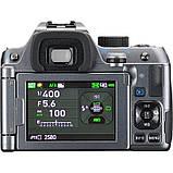 Фотоапарат Pentax K-70 Body Silky Silver /під замовлення, фото 3