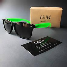 Солнцезащитные очки I&M Craft зеленые(180105)