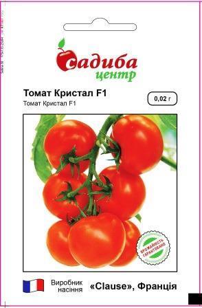 Семена томата Кристал F1 (0,02г) ТМ Садиба Центр