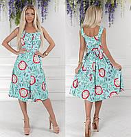 """Стильное платье """" Листья """" Dress Code, фото 1"""