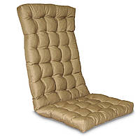 Матрас на кресло Кедр на Ливане стеганный серия Garden 105x48x7 см Бежевый (1048)