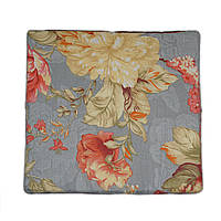 Подушка на табурет Кедр на Ливане квадратная серия Small 32x30x2 см Цветы (1080)