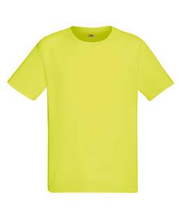 Мужская спортивная футболка S, XK Ярко-Желтый