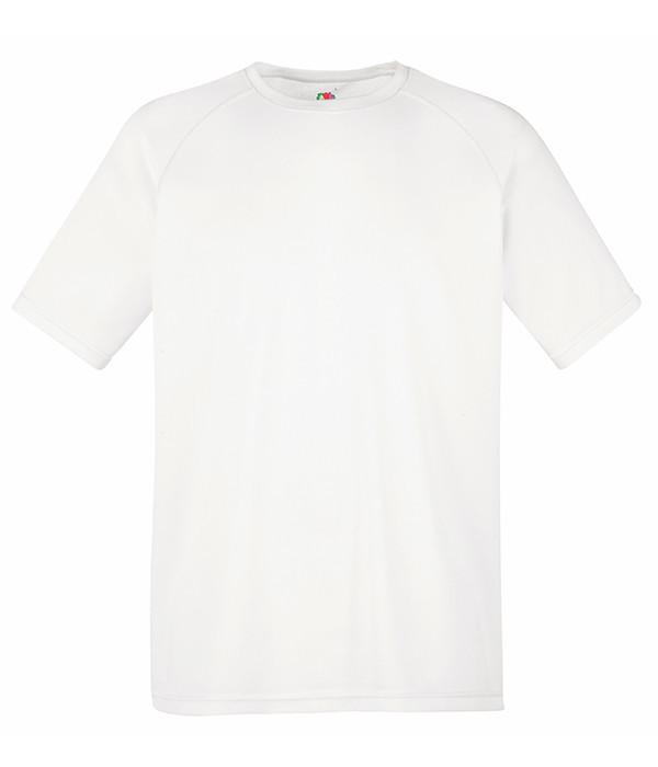 Мужская спортивная футболка M, 30 Белый