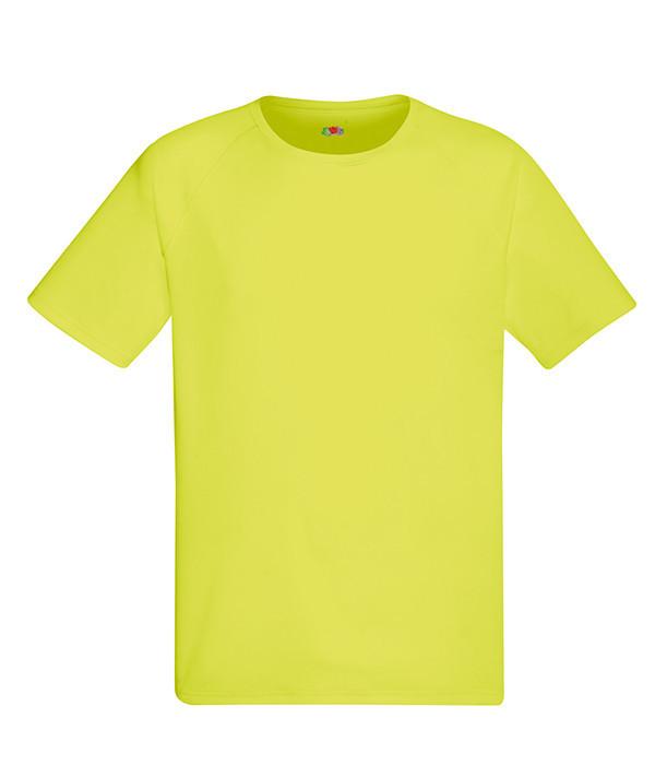Мужская спортивная футболка M, XK Ярко-Желтый