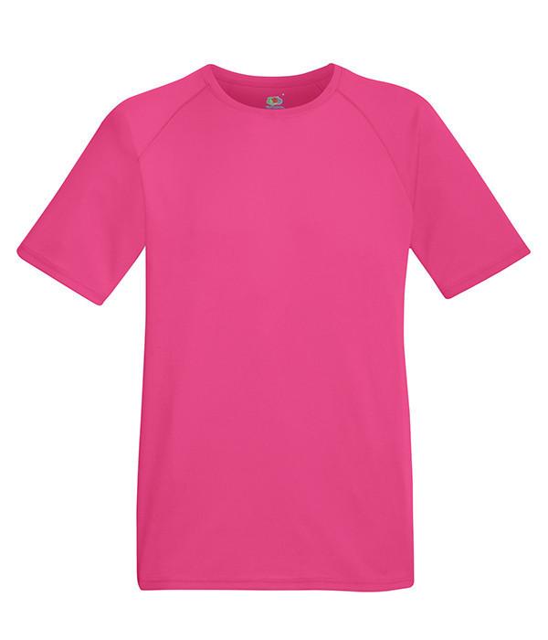 Мужская спортивная футболка L, 57 Малиновый
