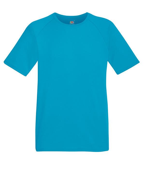 Мужская спортивная футболка L, ZU Ультрамарин