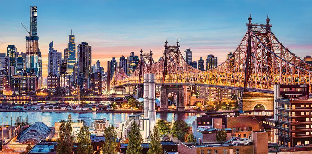 Пазлы Вечер в Нью-Йорке на 4000 элементов