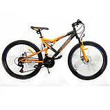 "Велосипед Azimut Scorpion 24""х17 GFRD 2021, фото 2"