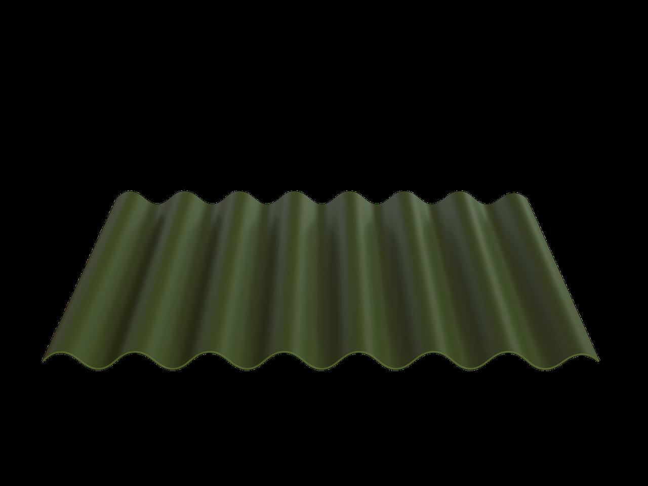 FIBRODAH Modern Фіброцементний лист - 1130х585 Зелений
