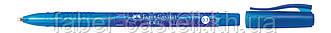 Шариковая ручка Faber-Castell СХ 7 синяя с перманентными чернилами 0.7 мм, 246851