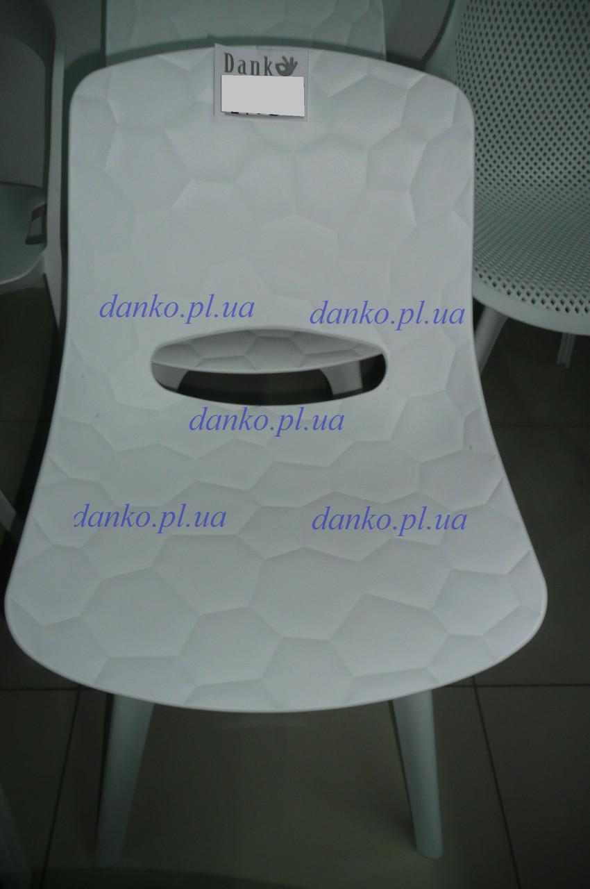Стул для кафе пластиковый OW-194H CLARK (Кларк) белый от Kashtan