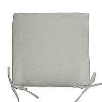 Подушка на стул квадратная  I 37x37x5 см Лен
