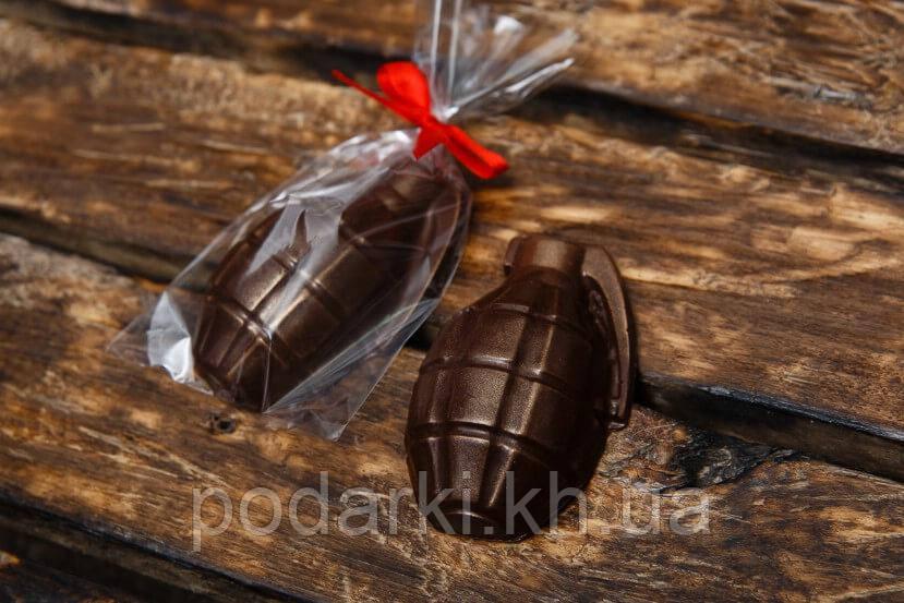 Шоколадная граната. Подарок на День защитника Украины