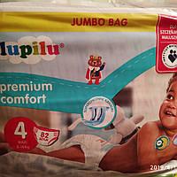 Подгузники Lupilu comfort premium 4 (7-16кг) 82шт. лупилу премиум комфорт мегапак