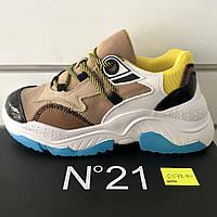 Подростковые кроссовки Billy №21 оптом (36-41)