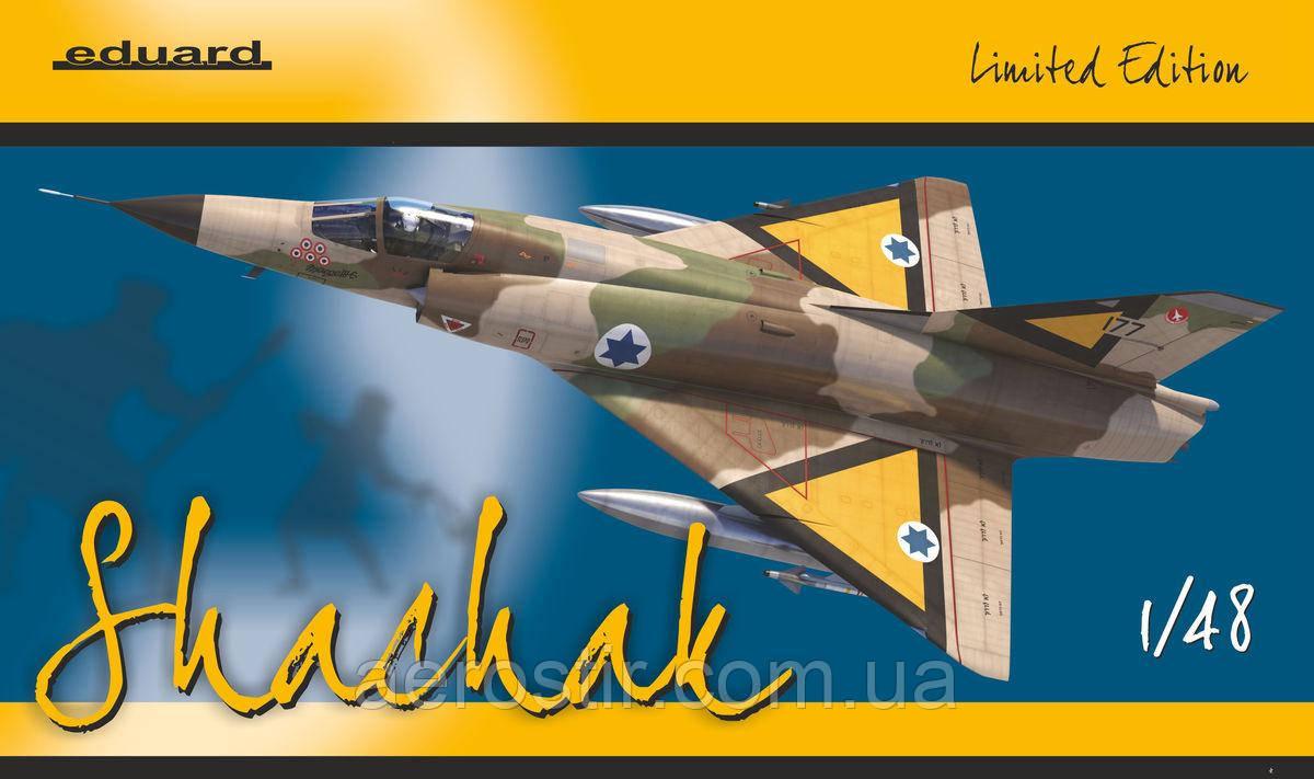 Shachak Mirage IIICJ Limited Edition 1/48 Eduard 11128