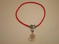 Красная нить «Якорь со штурвалом», фото 1