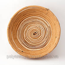 Корзинка для расстойки, 0,5 кг круглая 19 см