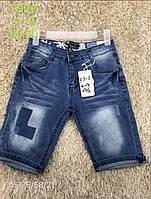 Джинсовые шорты для мальчика оптом, S&D, 4-14 лет,  № FS-02, фото 1