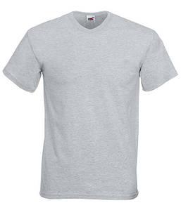 Мужская футболка с v образным вырезом S, 94 Серо-Лиловый