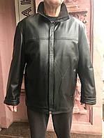 Куртка кожаная натуральная мужская демисезонная