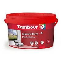 Акриловая краска Tambour (Тамбур) Supercryl Matt Plus (Суперкрил Матт Плюс), 1 литр