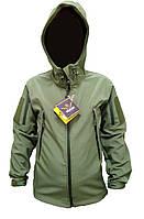 Куртка Soft Shell OLIVE MILITARY PLUS